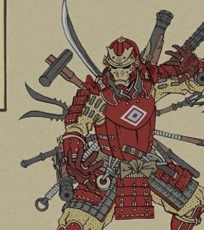 Ilustrador faz releitura dos 'Vingadores' inspirado na arte milenar japonesa