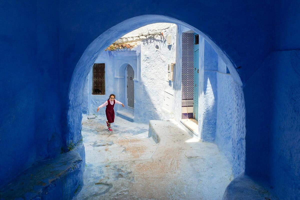 cidade azul marrocos 1