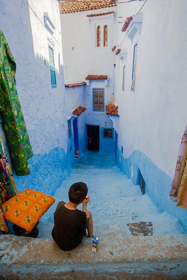 cidade azul marrocos 10