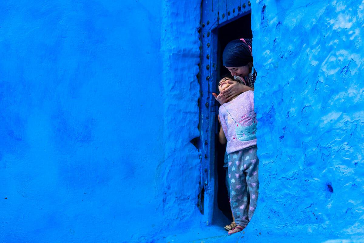 cidade azul marrocos 11