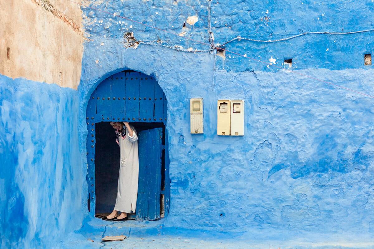 cidade azul marrocos 12