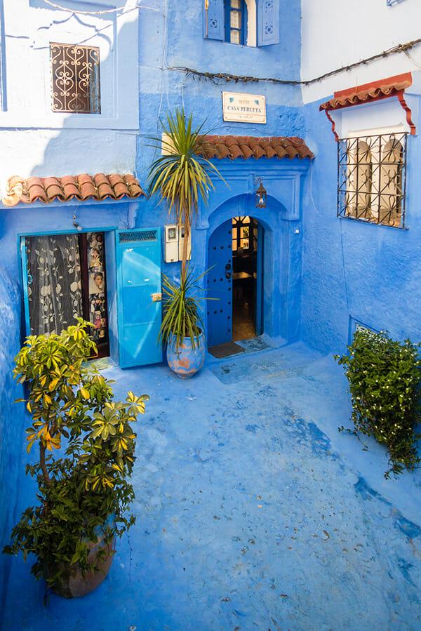 cidade azul marrocos 15
