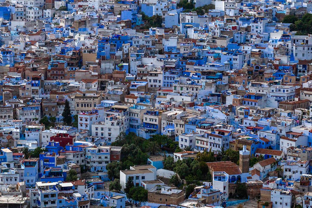 cidade azul marrocos 16