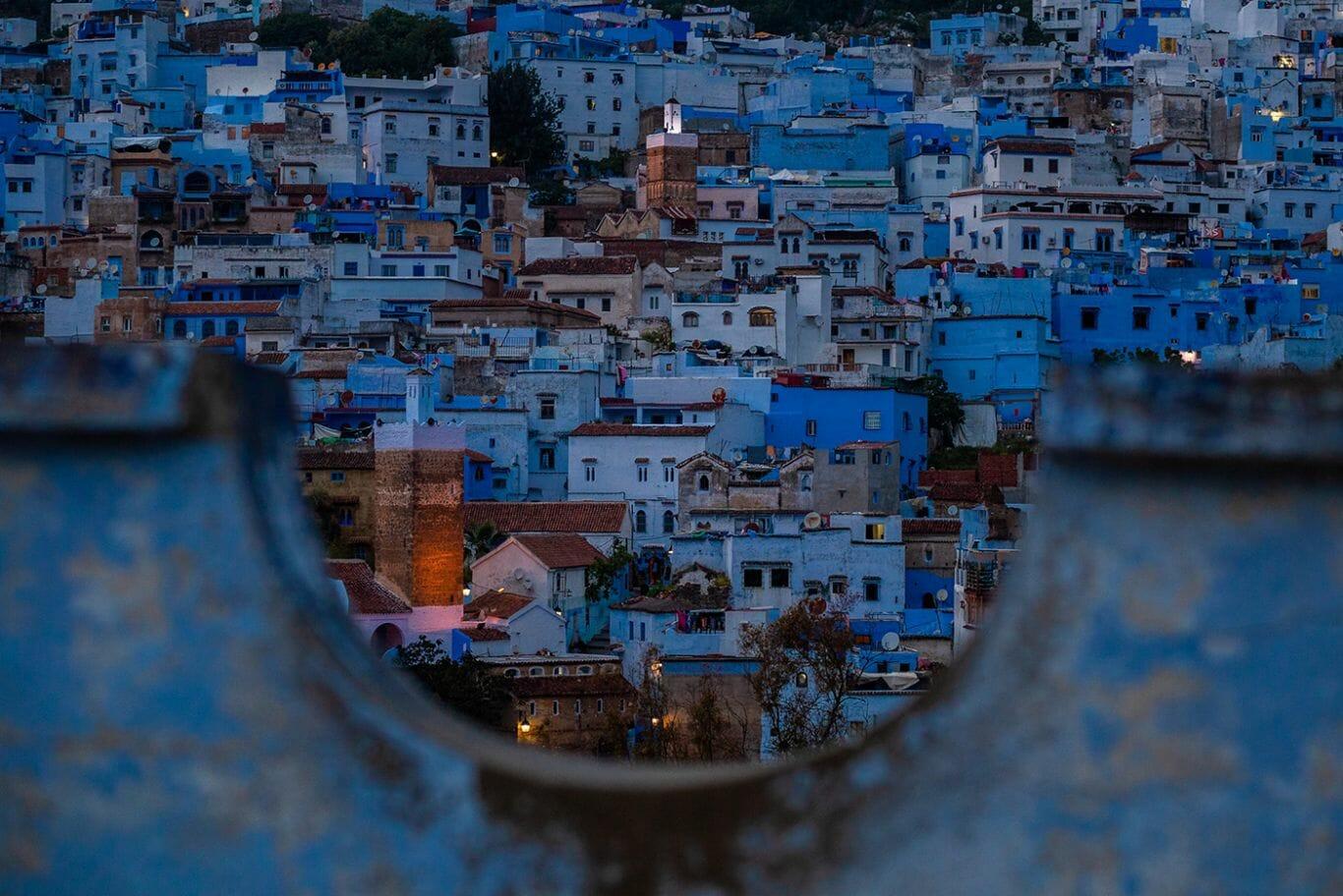 cidade azul marrocos 18