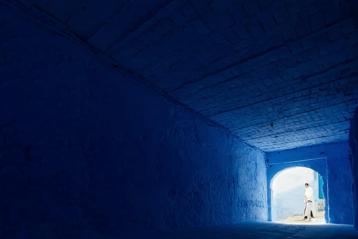 cidade azul marrocos 2