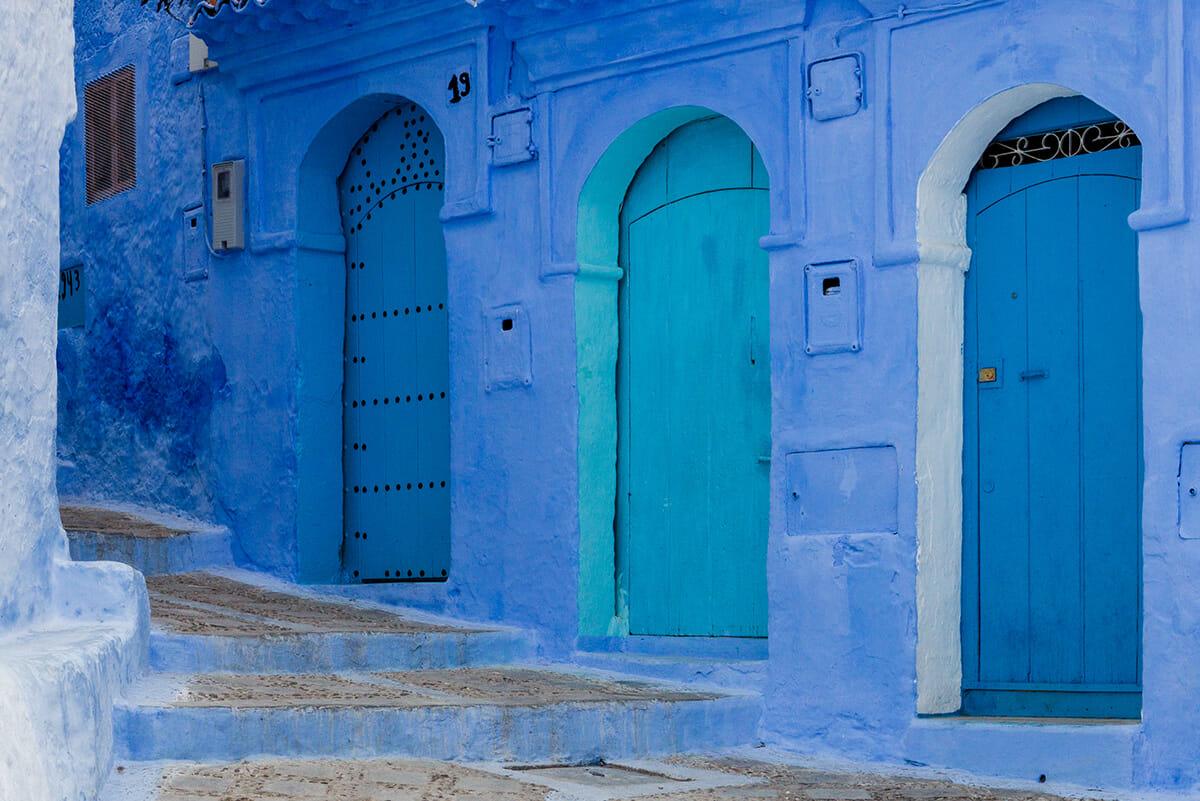 cidade azul marrocos 3