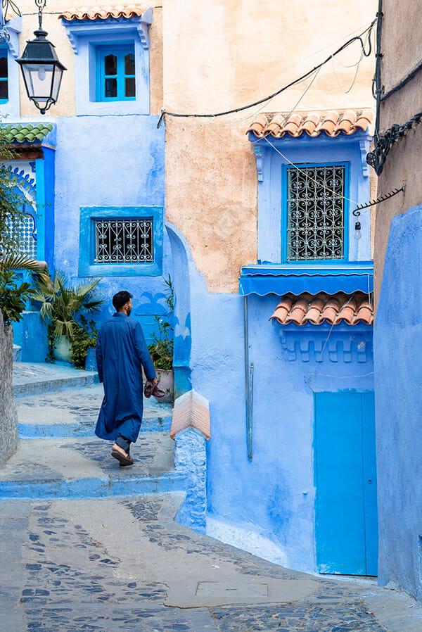 cidade azul marrocos 4