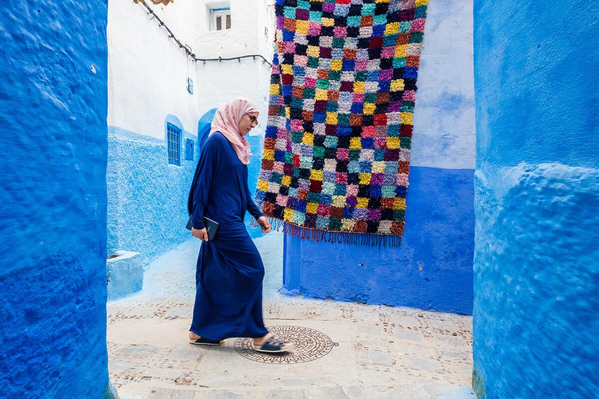 cidade azul marrocos 5