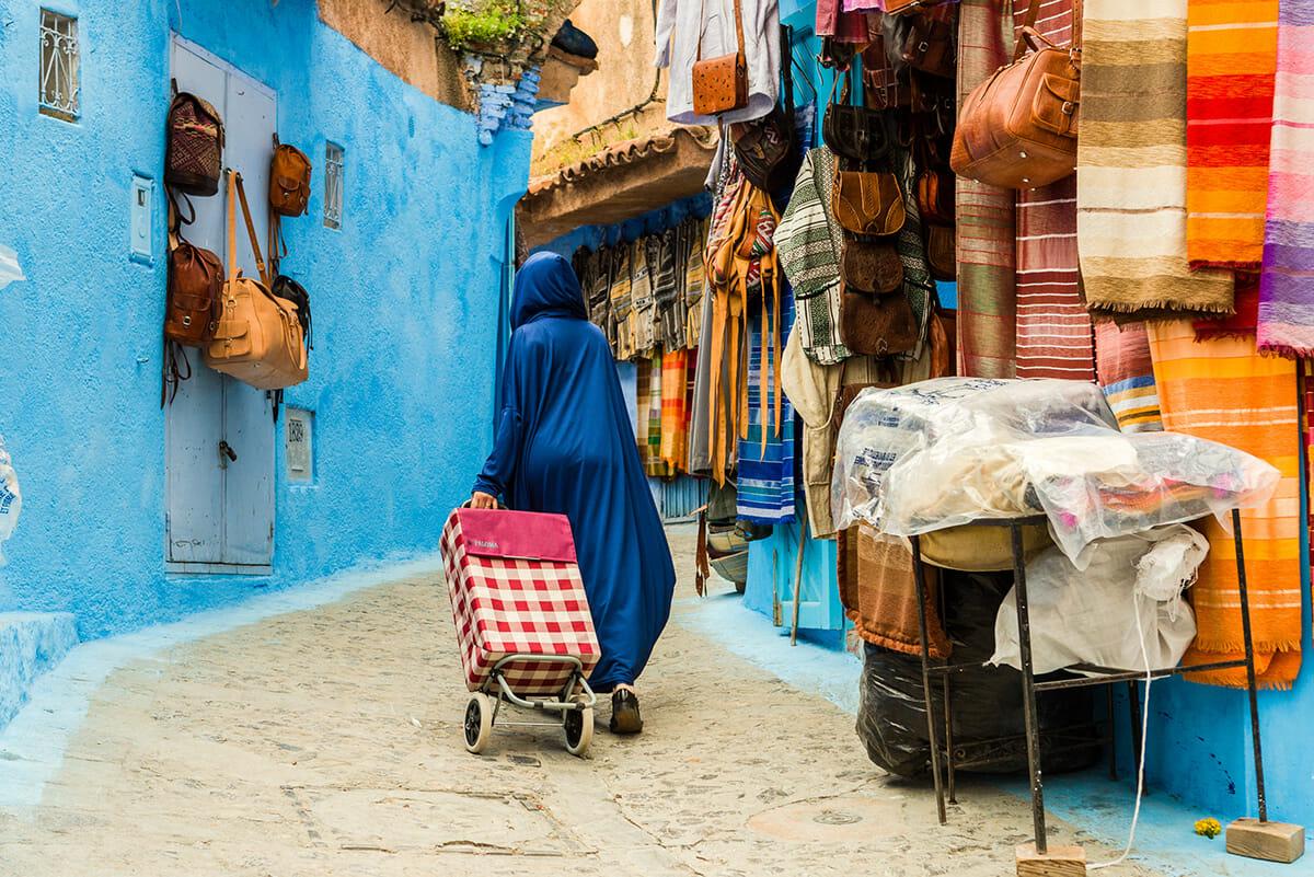cidade azul marrocos 6
