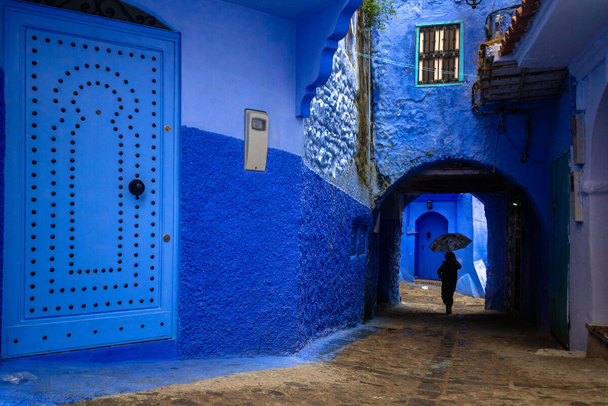 cidade azul marrocos 7