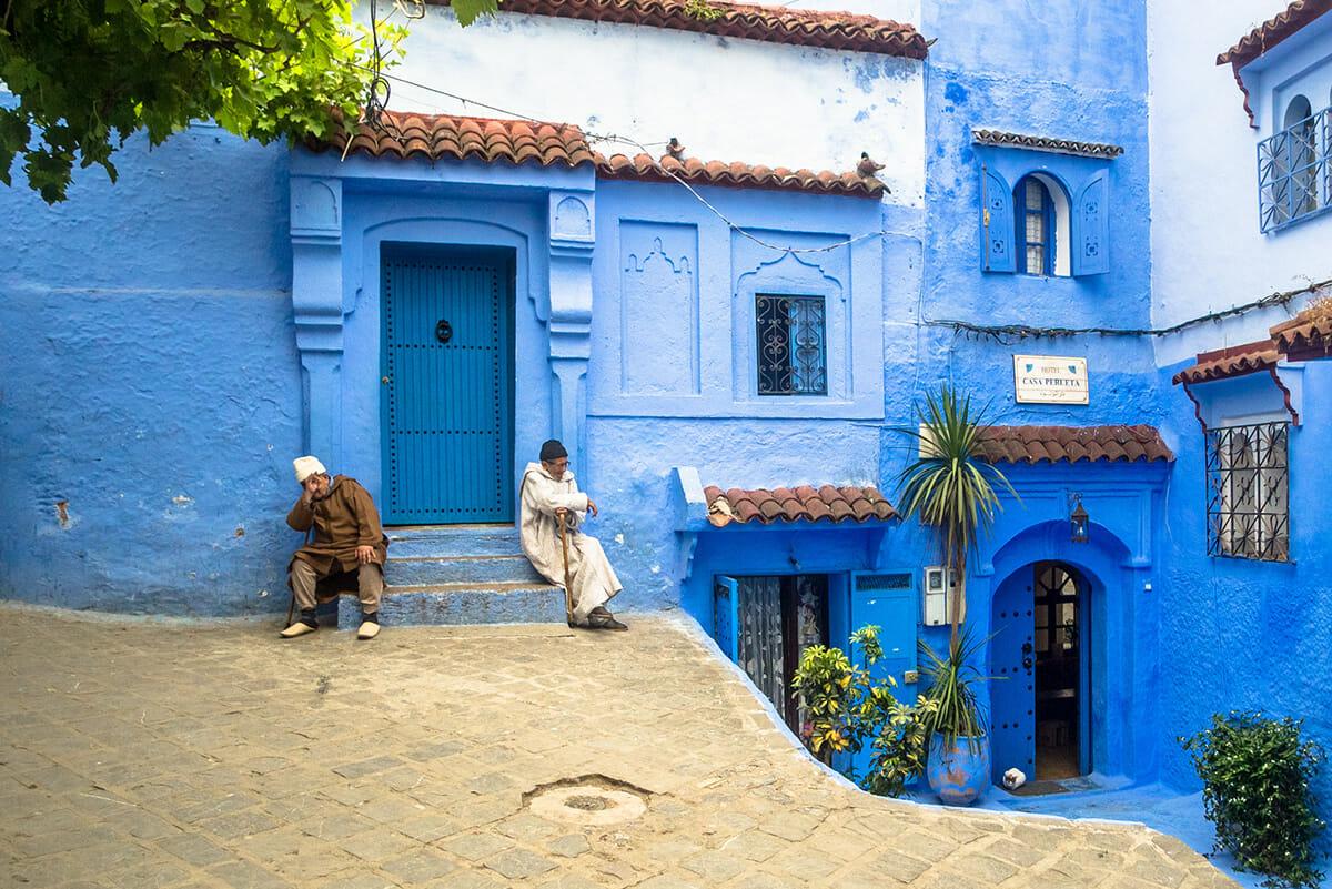 cidade azul marrocos 8