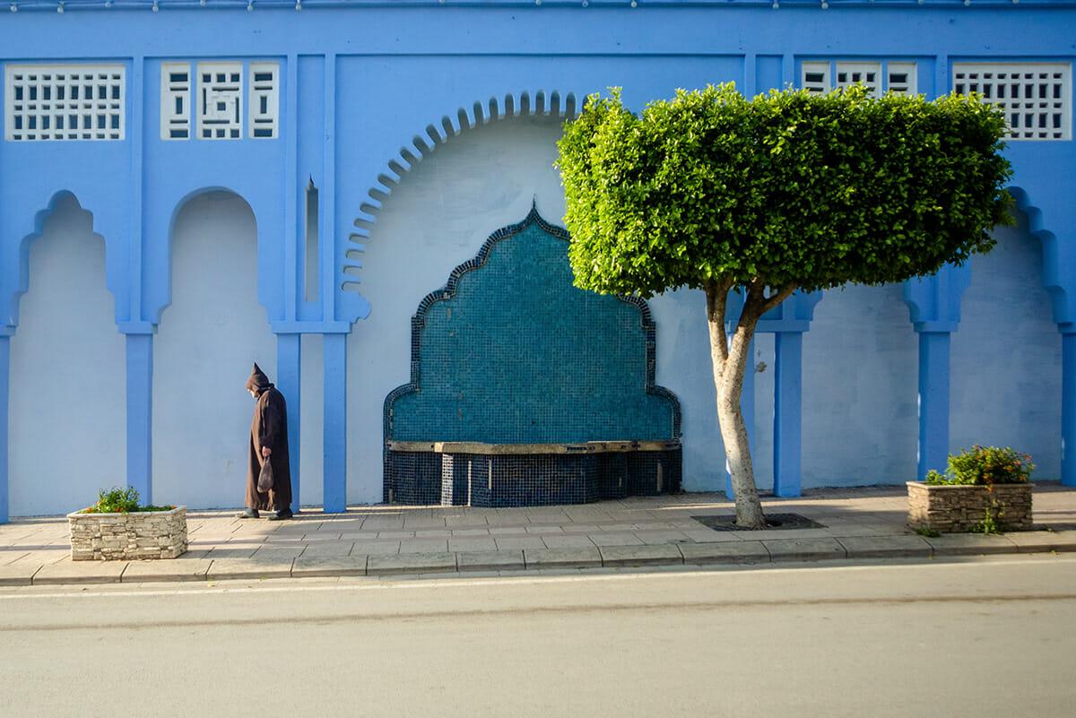 cidade azul marrocos 9
