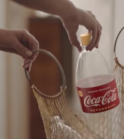 Coca-Coca estimula retornáveis pela primeira vez em sua história
