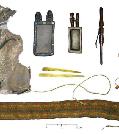 Encontraram ayahuasca e drogas psicotrópicas em bolsa milenar de indígenas da Bolívia