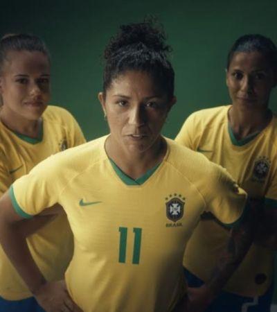 Comercial do Guaraná Antarctica convida outras marcas a apoiarem o Futebol Feminino