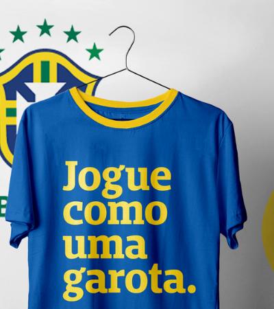 Peita lança edição especial 'Jogue Como Uma Garota' para Copa de Futebol Feminino