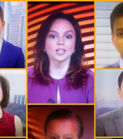 'Chico Pinheiro já nasceu assim': Bocardi entra na onda e mostra repórteres como bebês