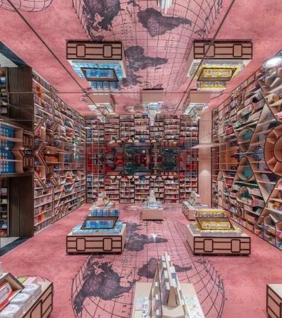 Conheça a incrível livraria inspirada no filme 'A Origem'