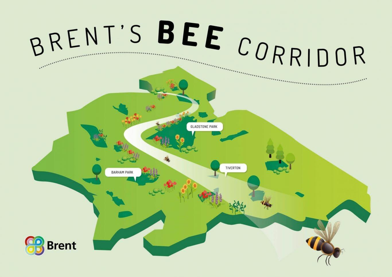 londres corredor de abelhas 2