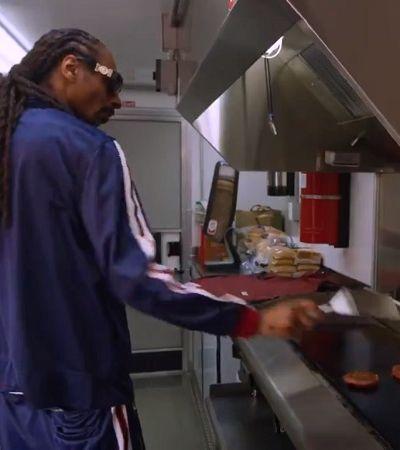 Snoop Dogg vira chapeiro de food truck vegano em campanha para Beyond Meat