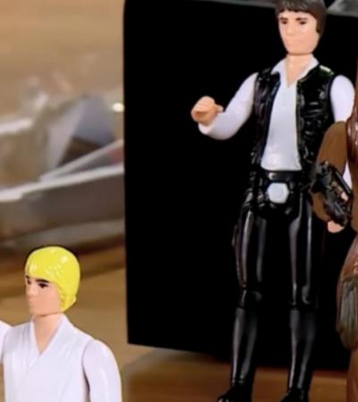 Hasbro abraça a nostalgia e relança bonecos de 'Star Wars' de 1977