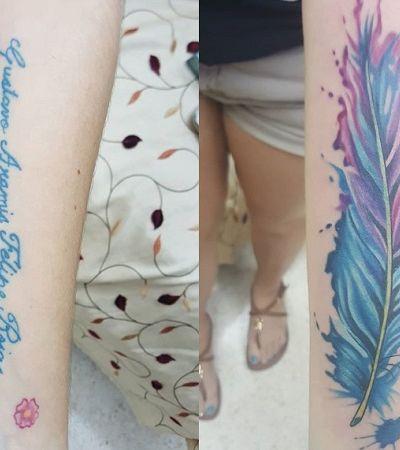 10 ideias geniais para ressignificar tattoo em homenagem a ex