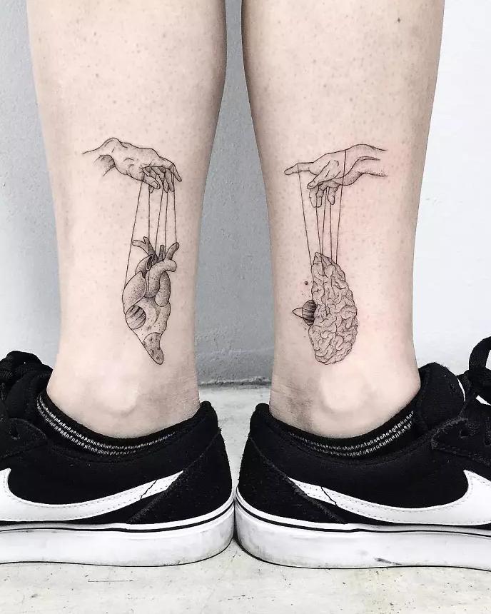 tatuagem de perna 13