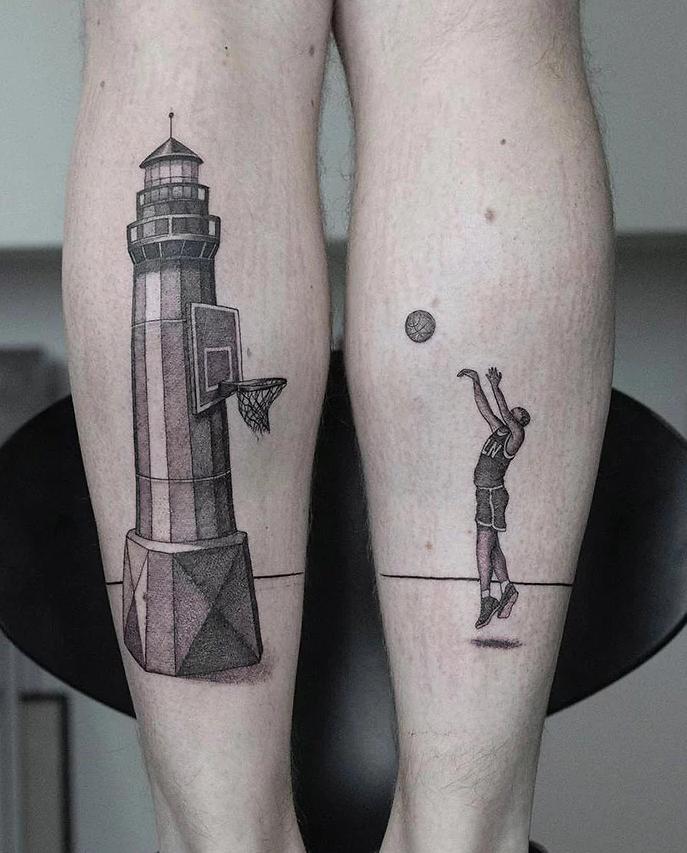tatuagem de perna 14