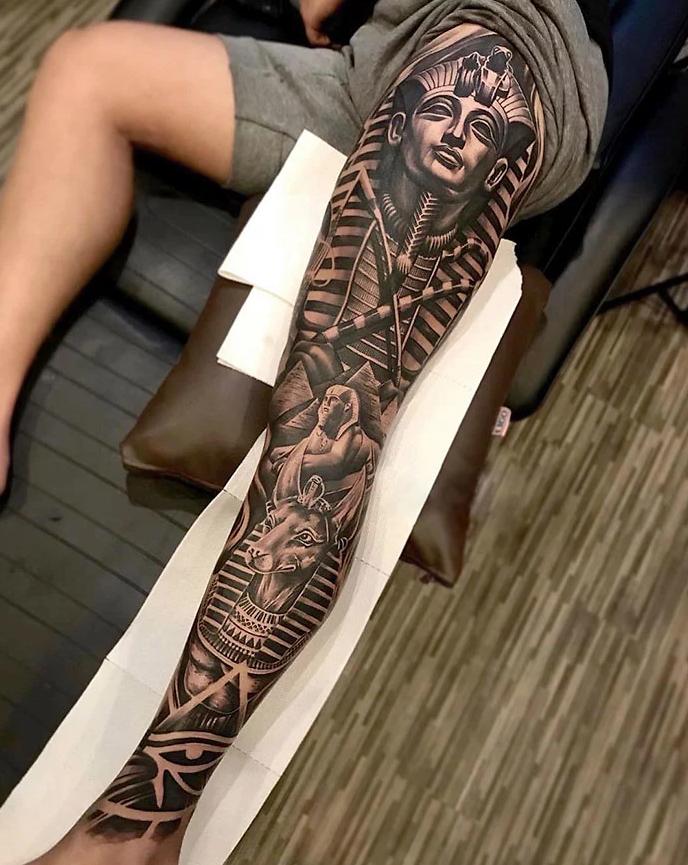 tatuagem de perna 2