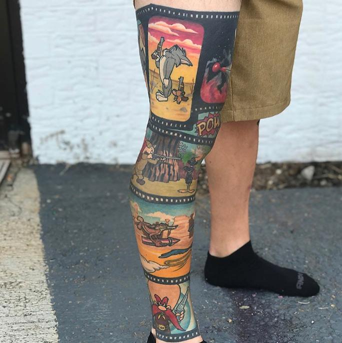 tatuagem de perna 3