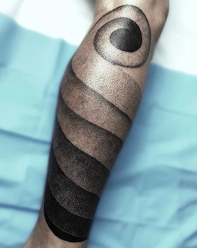 tatuagem de perna 9
