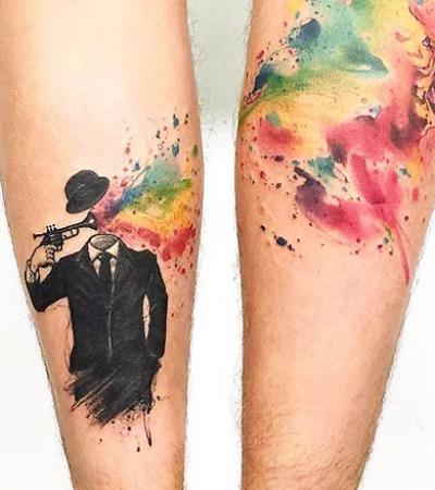 15 tattoos na perna totalmente originais para inspirar seu próximo rabisco