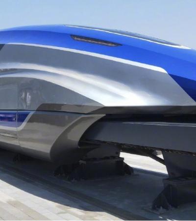 Novo trem bala chinês quebra recordes e atinge 600 km/h
