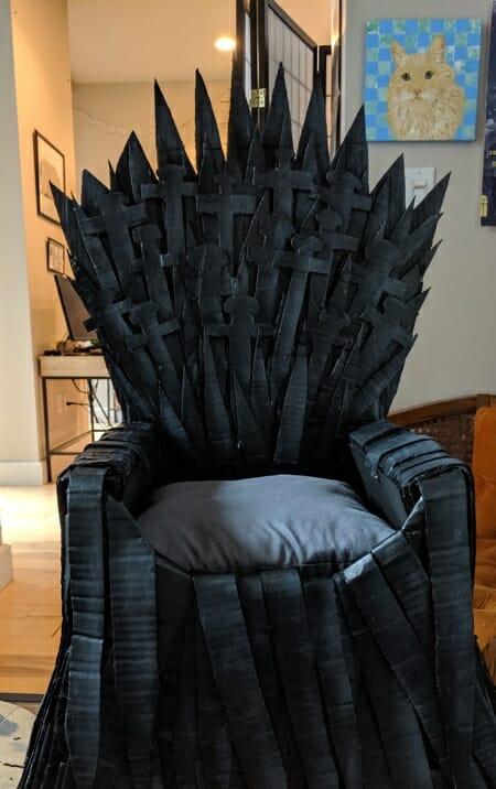 trono got para gatos 2
