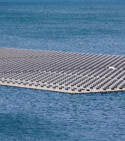 Rio São Francisco recebe usina solar flutuante na Bahia