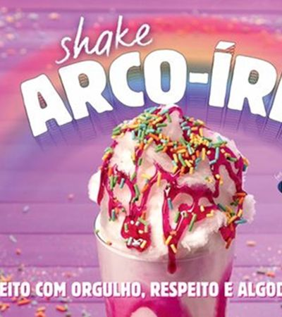 Parada LGBT tem Spice Girl e milk-shake de arco-íris com algodão doce do Burger King