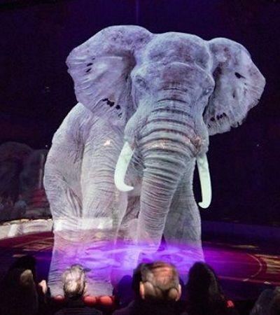 Circo alemão troca animais de verdade por hologramas em 3D