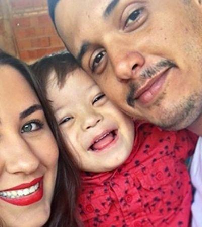 Jovem viraliza com declaração para namorado que assumiu filho com Down
