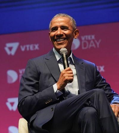 Em SP, Obama dá o recado, 'se você não inclui negros e mulheres, está deixando talento para trás'