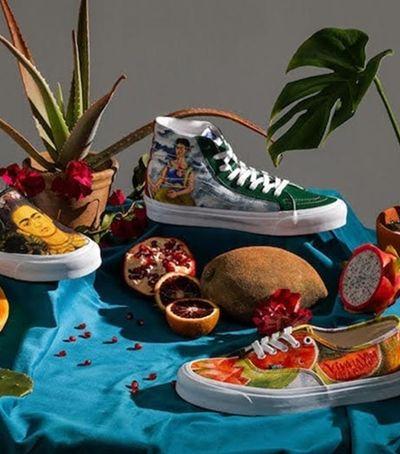 Vans acerta em cheio com coleção especial para celebrar Frida Kahlo