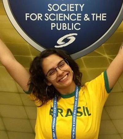 Vencedora de Nobel de ciência pede ajuda e repórter da Globo oferece vestido para premiação