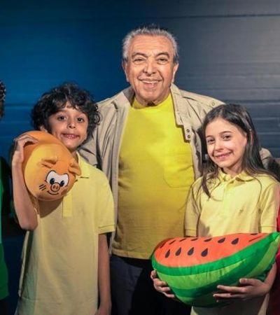 Mauricio de Sousa se emociona ao ver filme da 'Turma da Mônica' no cinema