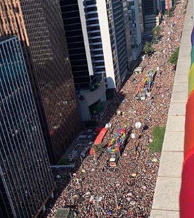 '23ª Parada LGBT' reúne 3 milhões e se firma como um dos maiores eventos turísticos de SP