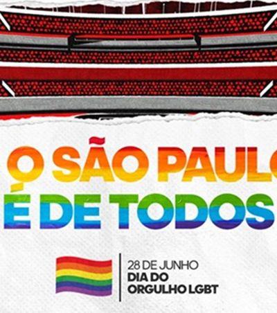 Após anos preso no armário, São Paulo abraça os torcedores LGBT+