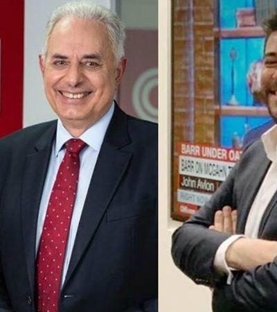 CNN Brasil: Internet se divide com anúncio de Evaristo Costa e William Waack