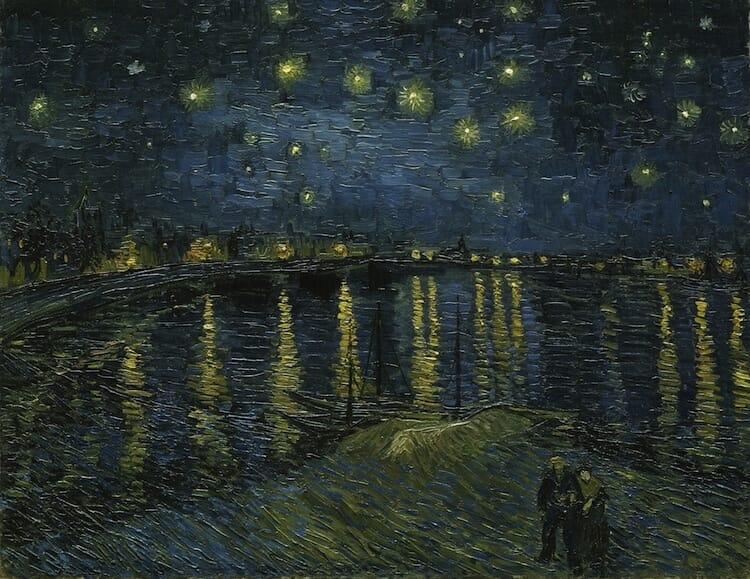 a noite estrelada 4