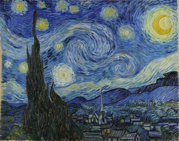a noite estrelada 5