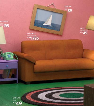 Ikea recria salas de famílias da cultura pop e coloca móveis à venda