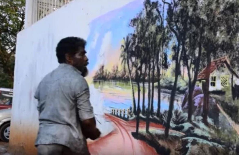 artista de rua índia 1