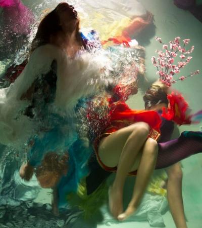 As incríveis fotografias subaquáticas que mais parecem pinturas barrocas